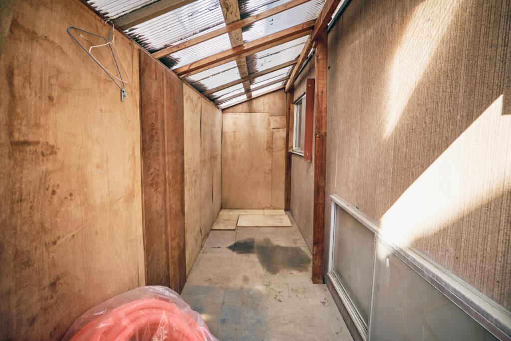 DIY小屋の内部2